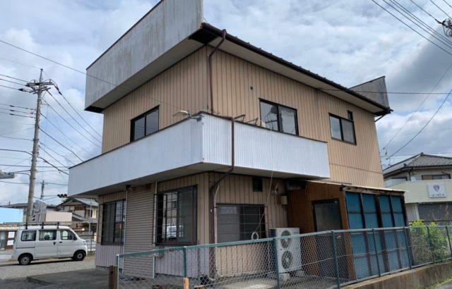 群馬県前橋市 U様貸店舗 外壁屋根付帯部塗装工事