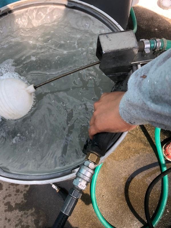 群馬県太田市 屋根外壁付帯部塗装工事 雨どい交換 下地処理 高圧洗浄 (1)