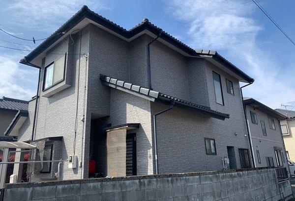 群馬県太田市 Y様邸 屋根外壁付帯部塗装工事 雨樋交換