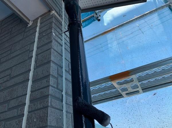 群馬県太田市 Y様邸 屋根・外壁・付帯部塗装工事 雨どい交換・塗装 (1)