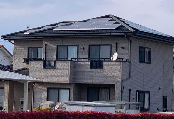 群馬県佐波郡玉村町 O様邸 外壁、屋根、付帯部塗装工事