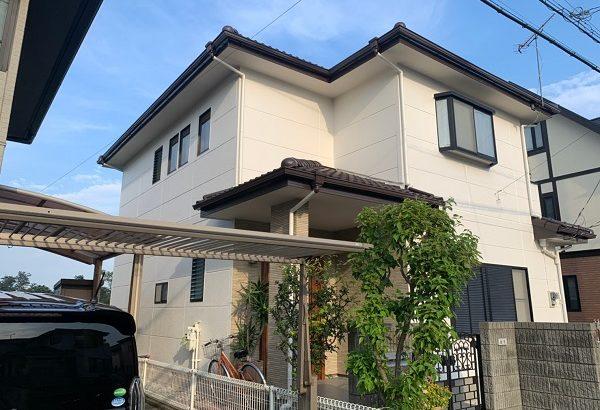 群馬県前橋市 K様邸 屋根、外壁塗装 コーキング工事