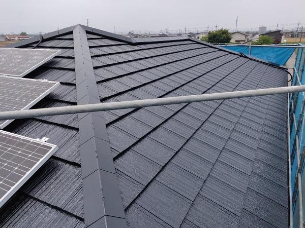 群馬県佐波郡玉村町 外壁、屋根、付帯部塗装工事1 (1)