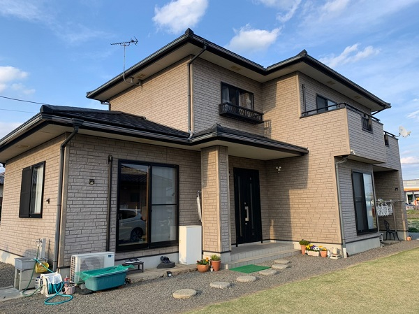 群馬県佐波郡玉村町 外壁、屋根、付帯部塗装工事1 (7)