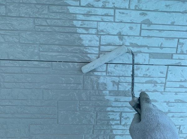群馬県前橋市 I様邸 外壁塗装 付帯部塗装 コーキング工事 (5)