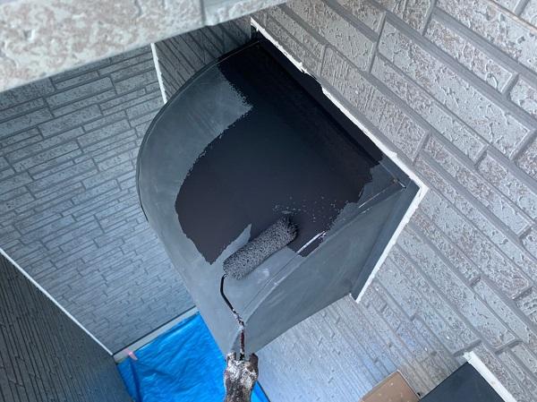 群馬県太田市 屋根・外壁・付帯部塗装工事 雨どい交換 換気フード 庇 ガイソーウォール・タフネスシリコンII (5)