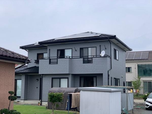 群馬県佐波郡玉村町 外壁、屋根、付帯部塗装工事1 (9)