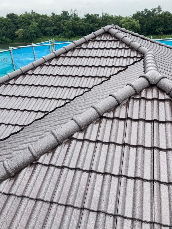 群馬県前橋市 屋根、外壁塗装 コーキング工事 (5)