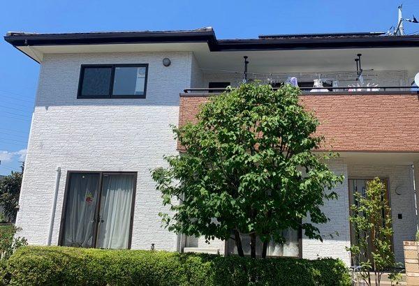 群馬県前橋市 I様邸 外壁塗装 付帯部塗装 コーキング工事2 (1)