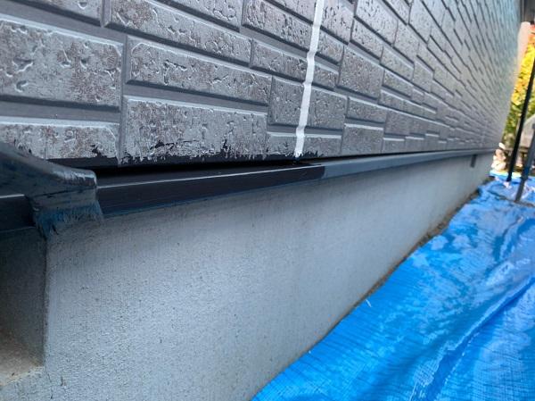 群馬県太田市 屋根・外壁・付帯部塗装工事 雨どい交換 水切り、鼻隠しの塗装 (4)