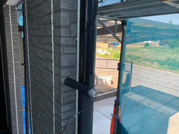 群馬県太田市 Y様邸 屋根・外壁・付帯部塗装工事 雨どい交換・塗装 (4)