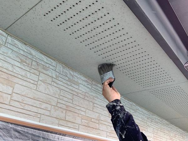 群馬県前橋市 I様邸 外壁塗装 付帯部塗装 コーキング工事 (4)