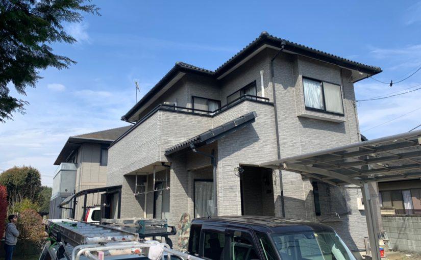 群馬県太田市 Y様邸 屋根・外壁・付帯部塗装工事 完工 定期訪問サポート (1)