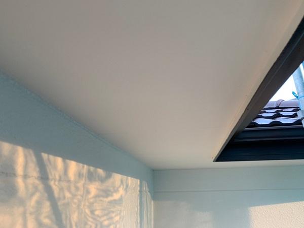 群馬県前橋市 K様邸 外壁リフォーム 付帯部塗装 軒天 (1)