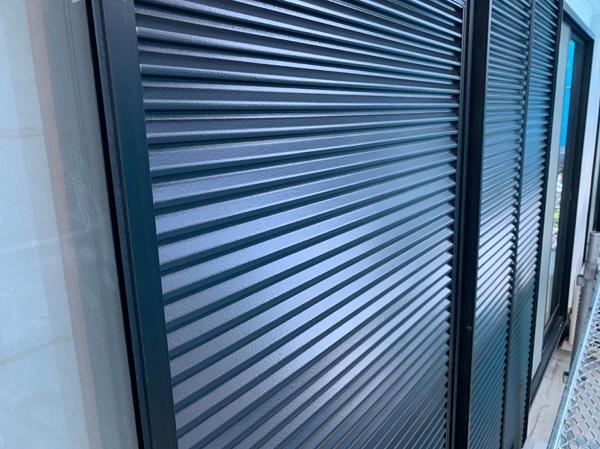 群馬県前橋市 K様邸 外壁リフォーム 付帯部塗装 雨戸塗装 チョーキング現象 (1)