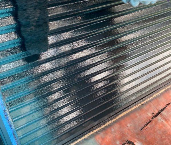 群馬県前橋市 K様邸 外壁リフォーム 付帯部塗装 雨戸塗装 チョーキング現象 (2)