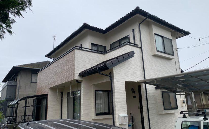 群馬県太田市 Y様邸 屋根・外壁・付帯部塗装工事 完工 定期訪問サポート (6)