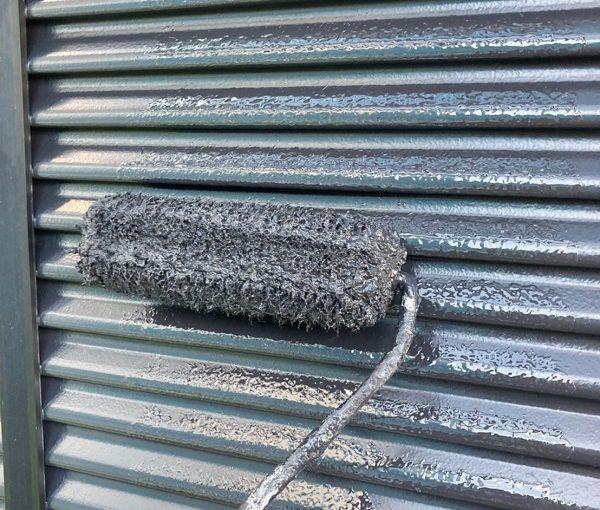 群馬県前橋市 K様邸 外壁リフォーム 付帯部塗装 雨戸塗装 チョーキング現象 (3)