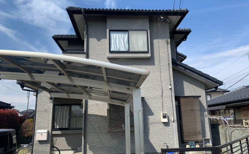群馬県太田市 Y様邸 屋根・外壁・付帯部塗装工事 完工 定期訪問サポート (2)