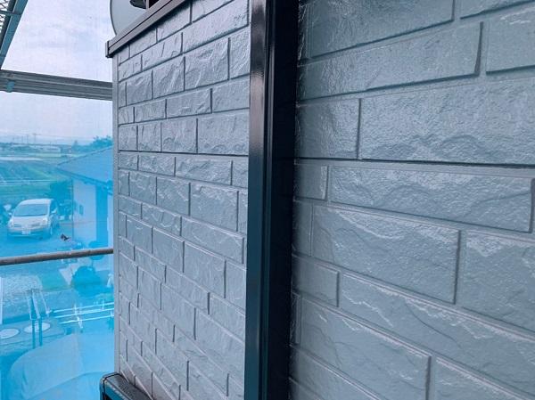 群馬県佐波郡玉村町 O様邸 外壁・屋根・付帯部塗装 雨樋塗装・エアコンホースカバー塗装 (3)
