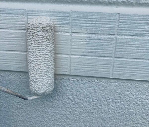 群馬県前橋市 K様邸 外装リフォーム工事 幕板塗装の工程 幕板の役割、デメリット (4)
