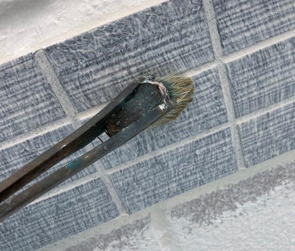 群馬県前橋市 K様邸 外装リフォーム工事 幕板塗装の工程 幕板の役割、デメリット (1)
