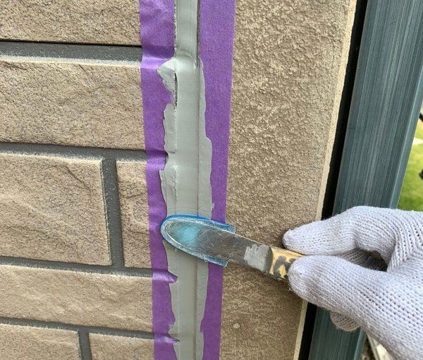 群馬県佐波郡玉村町 O様邸 外壁・屋根・付帯部塗装 コーキングの打ち替えと打ち増し オートンイクシード (4)