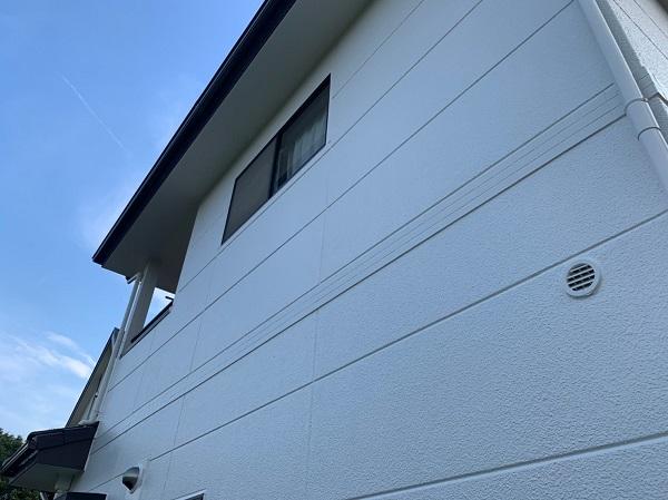 群馬県前橋市 K様邸 外装リフォーム工事 完工 足場解体 安心の定期訪問サポート (1)