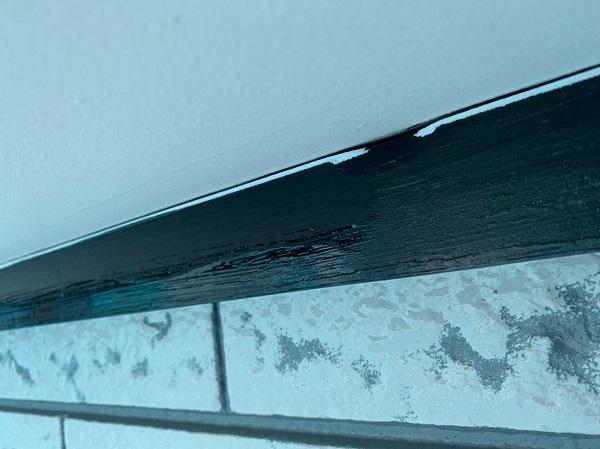 群馬県北群馬郡吉岡町 K様邸 外壁塗装 付帯部塗装 鉄部塗装 ケレン作業 クリーンマイルドシリコン (7)