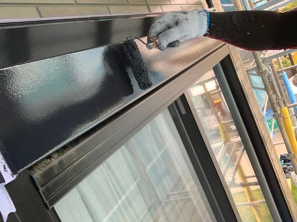 群馬県前橋市 Y様邸 外壁塗装・付帯部塗装 窓枠サッシ塗装 目荒らしとは (3)