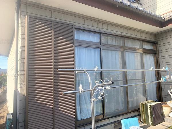 群馬県北群馬郡吉岡町 K様邸 外壁塗装 付帯部塗装 現場調査 外壁の苔やカビの恐ろしさ コーキングの劣化 (2)