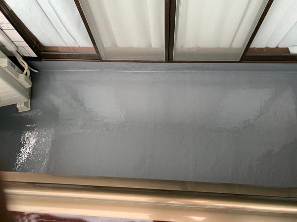 群馬県北群馬郡吉岡町 K様邸 外壁塗装 付帯部塗装 ベランダ防水工事 ウレタン防水 密着工法 (4)