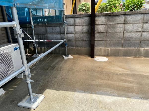 群馬県前橋市 Y様邸 外壁塗装・付帯部塗装 バイオ洗浄 ガイソーパワークリーナー (1)