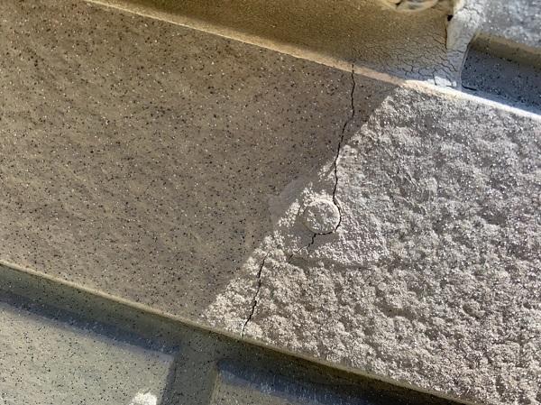 群馬県前橋市 Y様邸 外壁塗装・付帯部塗装 事前調査 窯業系サイディングとは ひび割れが起きる理由 (7)