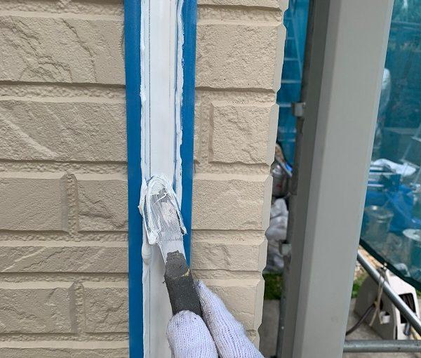 群馬県前橋市 O様邸 外壁塗装・付帯部塗装 シーリング打ち替え工事 オートンイクシード (2)