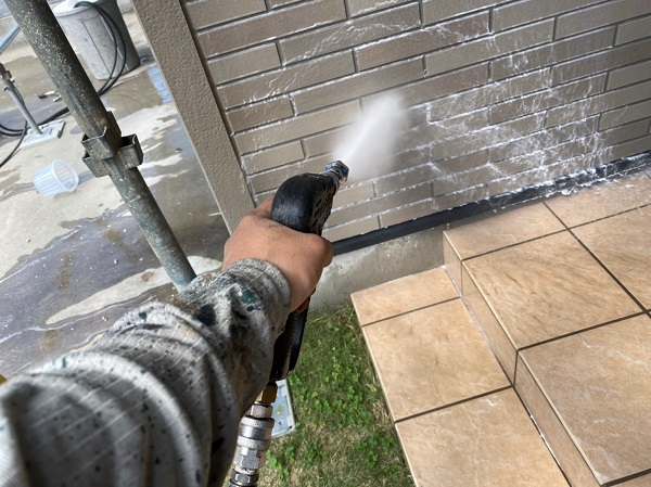 群馬県前橋市 Y様邸 外壁塗装・付帯部塗装 バイオ洗浄 ガイソーパワークリーナー (4)