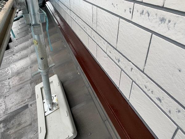群馬県北群馬郡吉岡町 K様邸 外壁塗装 付帯部塗装 鉄部塗装 ケレン作業 クリーンマイルドシリコン (5)