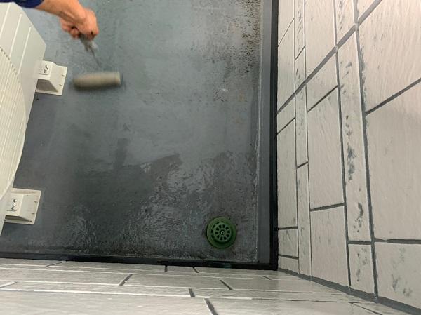 群馬県北群馬郡吉岡町 K様邸 外壁塗装 付帯部塗装 ベランダ防水工事 ウレタン防水 密着工法 (1)