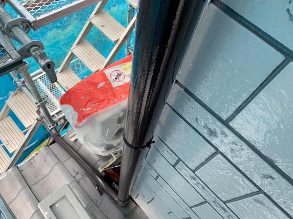 群馬県北群馬郡吉岡町 K様邸 外壁塗装 付帯部塗装 雨樋が持つ沢山の役割とは (6)