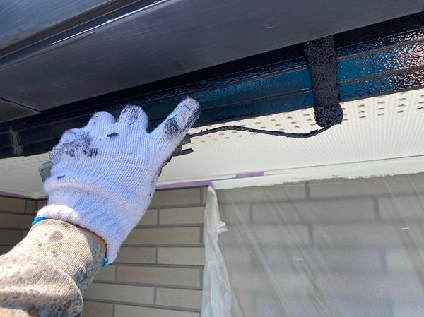 群馬県前橋市 Y様邸 外壁塗装・付帯部塗装 鼻隠し、雨樋塗装 雨樋各部分の名称 (7)
