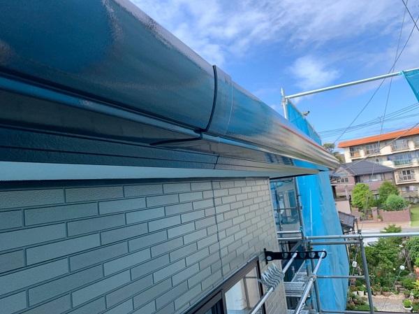 群馬県前橋市 Y様邸 外壁塗装・付帯部塗装 鼻隠し、雨樋塗装 雨樋各部分の名称 (2)