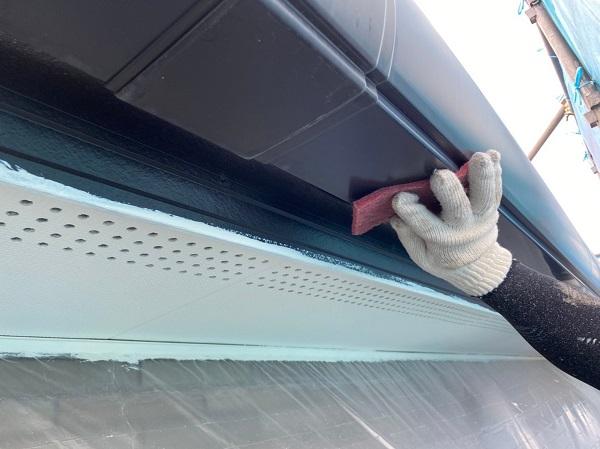 群馬県前橋市 Y様邸 外壁塗装・付帯部塗装 鼻隠し、雨樋塗装 雨樋各部分の名称 (13)