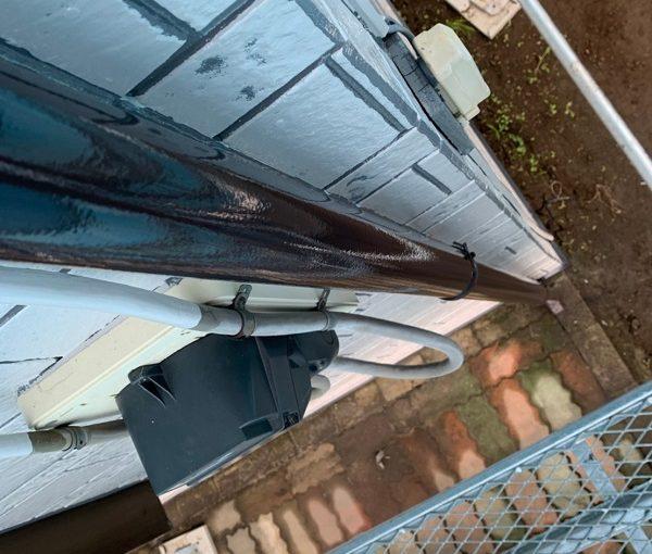 群馬県北群馬郡吉岡町 K様邸 外壁塗装 付帯部塗装 雨樋が持つ沢山の役割とは (8)
