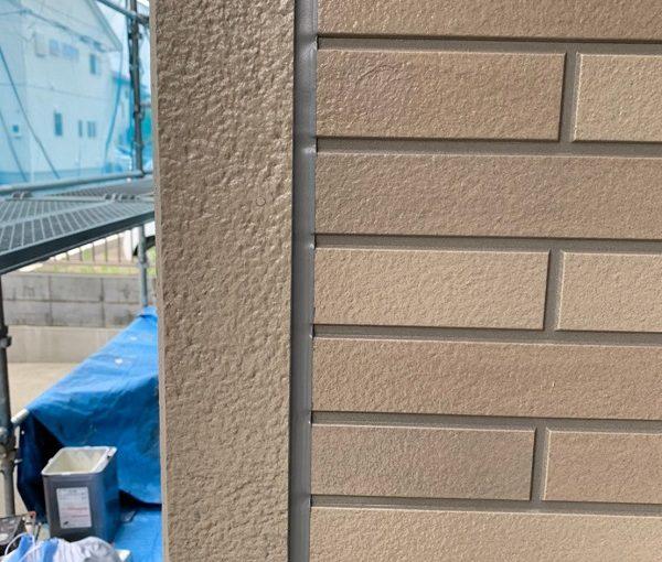 群馬県前橋市 Y様邸 外壁塗装・付帯部塗装 養生 シーリング工事(コーキング工事) 写真付き手順 オートンイクシード 1 (7)