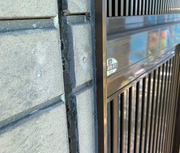 群馬県北群馬郡吉岡町 K様邸 外壁塗装 付帯部塗装 現場調査 外壁の苔やカビの恐ろしさ コーキングの劣化 (6)