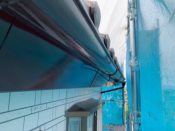 群馬県北群馬郡吉岡町 K様邸 外壁塗装 付帯部塗装 雨樋が持つ沢山の役割とは (3)