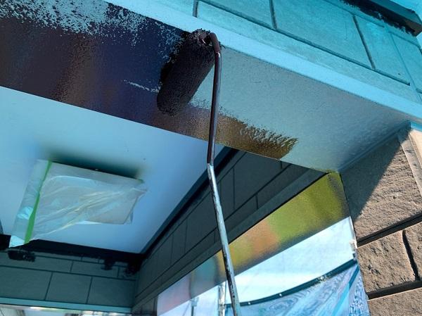 群馬県北群馬郡吉岡町 K様邸 外壁塗装 付帯部塗装 鉄部塗装 ケレン作業 クリーンマイルドシリコン3
