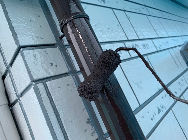 群馬県北群馬郡吉岡町 K様邸 外壁塗装 付帯部塗装 雨樋が持つ沢山の役割とは (4)