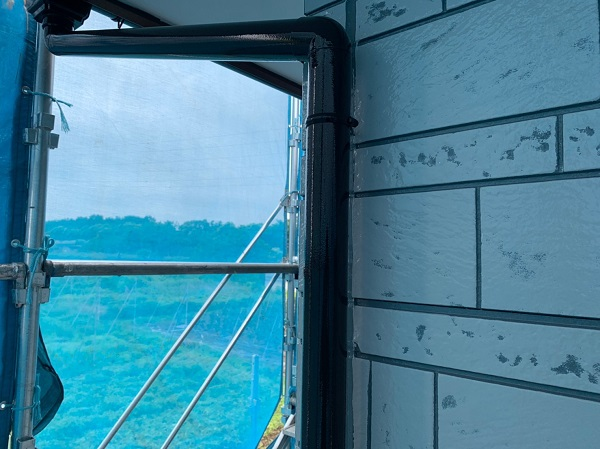 群馬県北群馬郡吉岡町 K様邸 外壁塗装 付帯部塗装 雨樋が持つ沢山の役割とは (5)