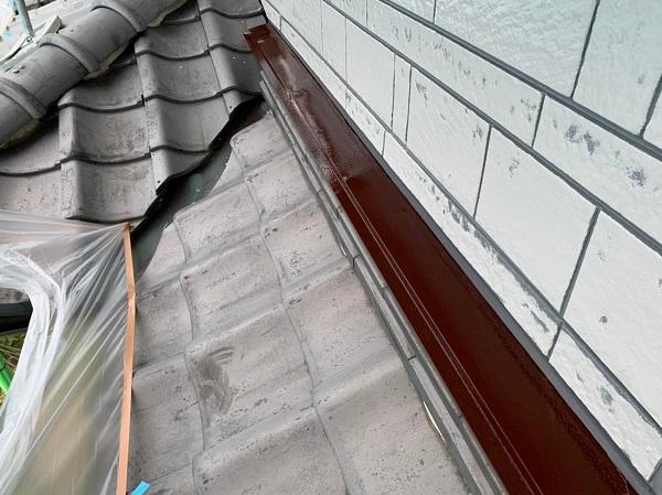 群馬県北群馬郡吉岡町 K様邸 外壁塗装 付帯部塗装 シーリング工事③ 工程 オートンイクシード (1)